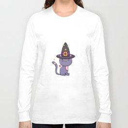 Kitty Cat-Halloween-Shirts-For Long Sleeve T-shirt