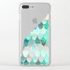 SUMMER MERMAID II Clear iPhone Case
