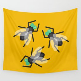 No Flies On Me Wall Tapestry