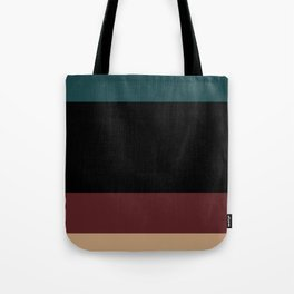 Contemporary Color Block XII Tote Bag