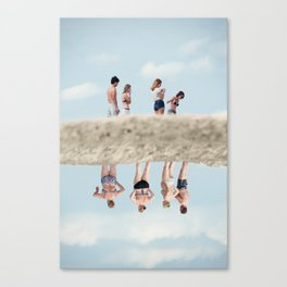 Satta Outside Canvas Print