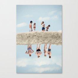 Satta Outside Canvas Print