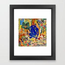 Matisse el Henri Framed Art Print