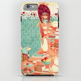 Alice's Tea Party iPhone Case