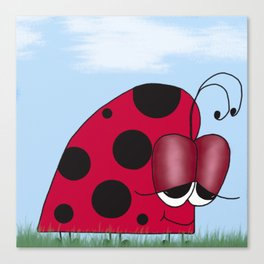 The Euphoric Ladybug Canvas Print