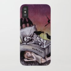 Sleeping at last iPhone X Slim Case