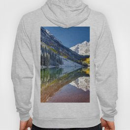 Maroon Bells Colorado Aspen USA Hoody