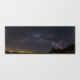 """""""Meteorite"""". Milky way at the mountains Canvas Print"""