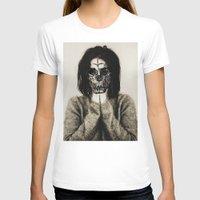 bjork T-shirts featuring Bjork skull by Sincere