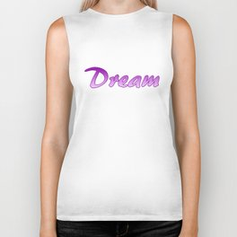 Inspiration Words...Dream Biker Tank