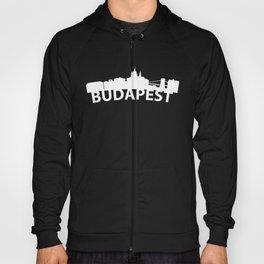 Curved Skyline Of Budapest Hungary Hoody