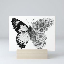 Butterfly in Bloom Mini Art Print
