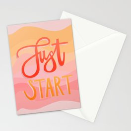 Just start Stationery Cards