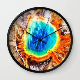 Earth's Eye Wall Clock