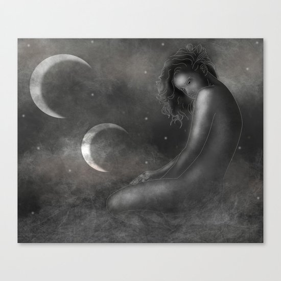 Mother of the Moons Canvas Print
