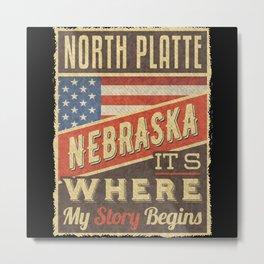 North Platte Nebraska Metal Print