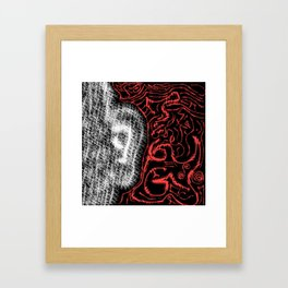 Drown Out The Noise Framed Art Print
