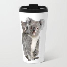 Koala bear and her baby Travel Mug
