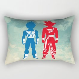 Warriors Rectangular Pillow