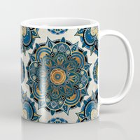 islam Mugs featuring Mandala by Mantra Mandala
