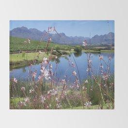 Cape Wineland Throw Blanket