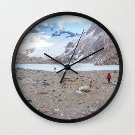 Laguna de los Tres, Patagonia, Argentina Wall Clock