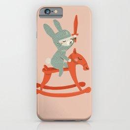Rabbit Knight iPhone Case