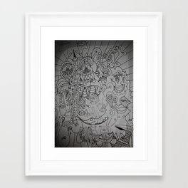 call back later Framed Art Print