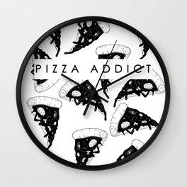 Pizza Addict Wall Clock