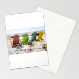 Your Chair Awaits, Anna Maria Island FL Stationery Cards