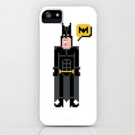 Pixel ManBat iPhone Case