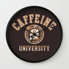 Caffeine University Wall Clock