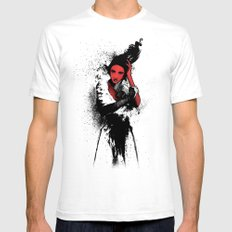Diva  Mens Fitted Tee White SMALL