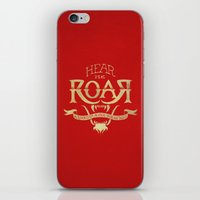 lannister iPhone & iPod Skins featuring Game of Type by Jango Snow