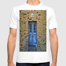 Blue Door 64 Mens Fitted Tee White MEDIUM