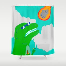 Oh, Crap Shower Curtain