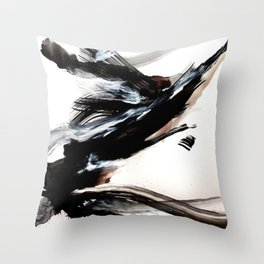 Day 9: A hurried life is an unexamined life. An unexamined life is a reckless life... Throw Pillow