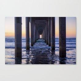 Scripps Pier Canvas Print