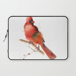 cardinal on the branch Laptop Sleeve