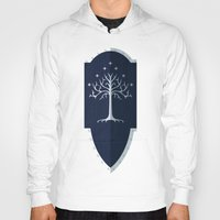 gondor Hoodies featuring Shield of Gondor by DWatson