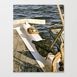 Anchors Away Canvas Print