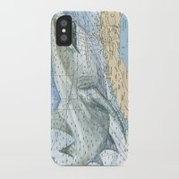 cuba iPhone & iPod Cases featuring Cuba Sharks by Carly Mejeur