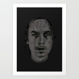 (((::Acid Cobra::))) Art Print