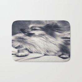 Pomeranian Thoughts.. Bath Mat