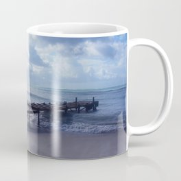 Pier in Aruba Coffee Mug