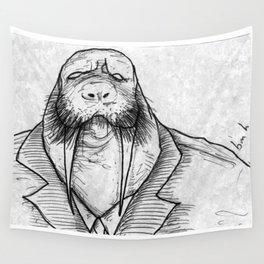 Mr Walrus u cant dance.. Wall Tapestry