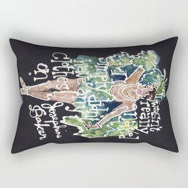 Josephine Baker Rectangular Pillow
