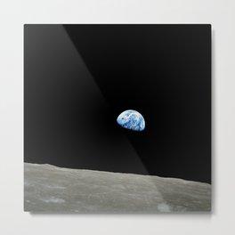 Earthrise Metal Print