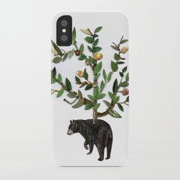 The wind is in the trees, the trees have its brances, the branches have its leaves iPhone Case