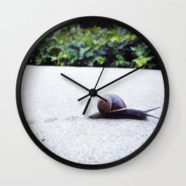 Escargot-cha II Wall Clock